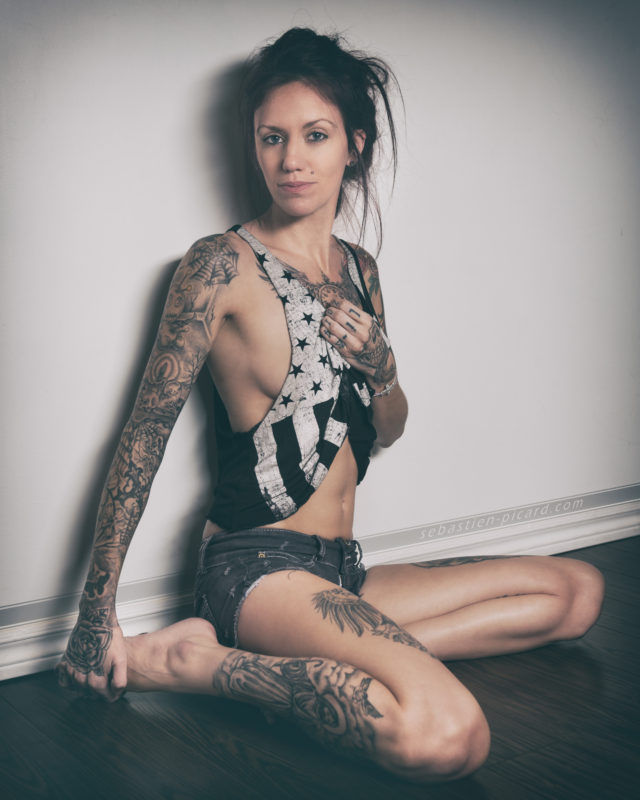 Boudoir - Kate Thewood - Québec Ink Girls