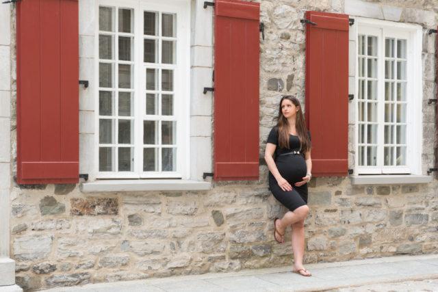 Photographe maternite à Québec - Extérieur